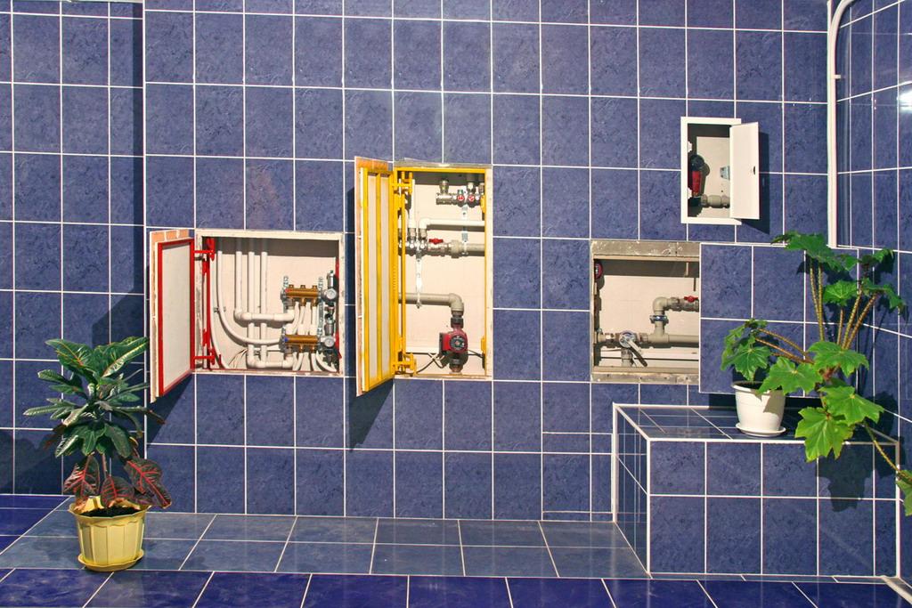 люк для ванной комнаты под плитку